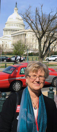 Linda Snyder was among a record number of participants in Arts Advocacy Day in Washington, D.C.